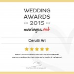 winner wedding Awards photographer